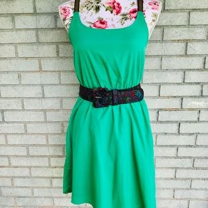 Annabelle Small Green Party Dress